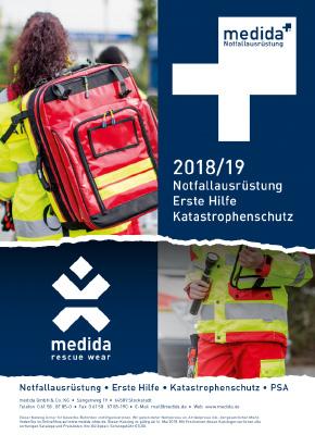 medida Gesamtkatalog inkl. rescue wear 2018 / 19
